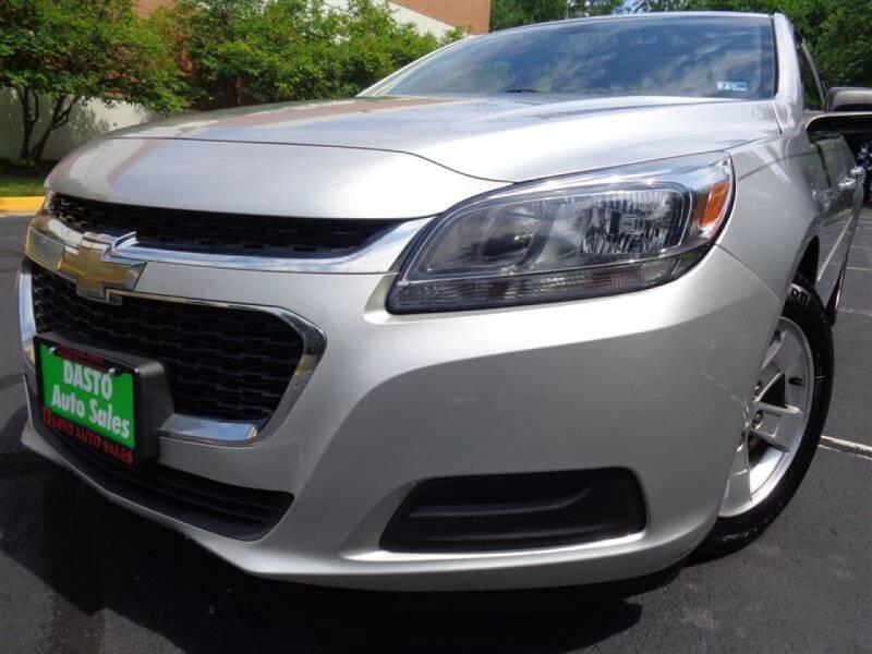 2015 Chevrolet Malibu for sale at Dasto Auto Sales in Manassas VA