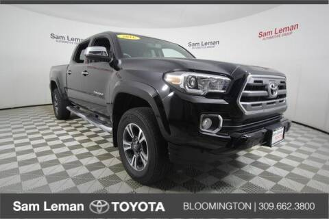 2016 Toyota Tacoma for sale at Sam Leman Toyota Bloomington in Bloomington IL