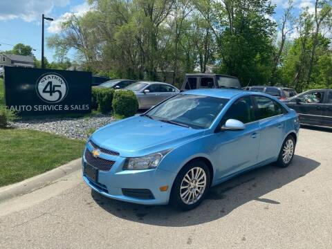 2012 Chevrolet Cruze for sale at Station 45 Auto Sales Inc in Allendale MI