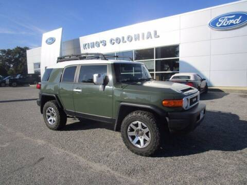 2014 Toyota FJ Cruiser for sale at King's Colonial Ford in Brunswick GA