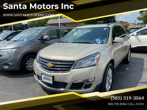 2014 Chevrolet Traverse for sale at Santa Motors Inc in Rochester NY