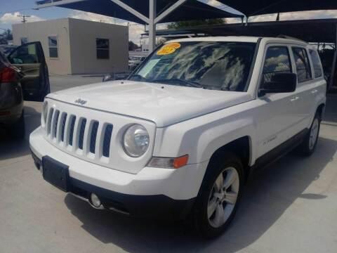 2012 Jeep Patriot for sale at Hugo Motors INC in El Paso TX