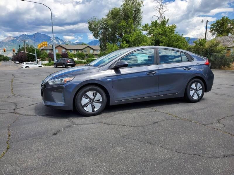 2017 Hyundai Ioniq Hybrid for sale at UTAH AUTO EXCHANGE INC in Midvale UT