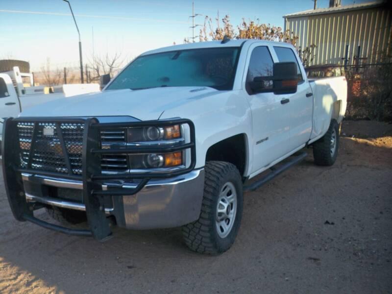 2015 Chevrolet Silverado 3500HD for sale at Samcar Inc. in Albuquerque NM