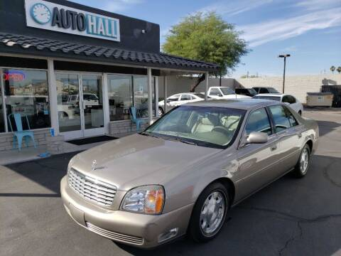 2001 Cadillac DeVille for sale at Auto Hall in Chandler AZ