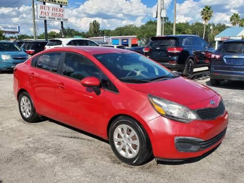 2014 Kia Rio for sale at Mars auto trade llc in Kissimmee FL