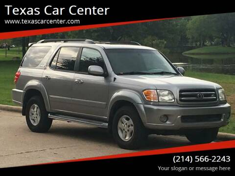 2001 Toyota Sequoia for sale at Texas Car Center in Dallas TX