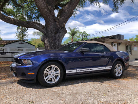 2012 Ford Mustang for sale at Allen's Friendly Auto Sales in Sanford FL