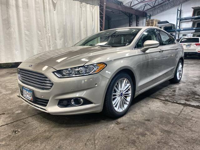 2015 Ford Fusion for sale at Victoria Auto Sales in Victoria MN