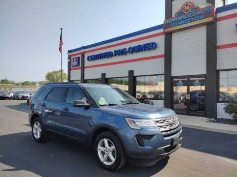 2018 Ford Explorer for sale at Ultimate Auto Deals DBA Hernandez Auto Connection in Fort Wayne IN