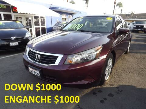 2009 Honda Accord for sale at PACIFICO AUTO SALES in Santa Ana CA