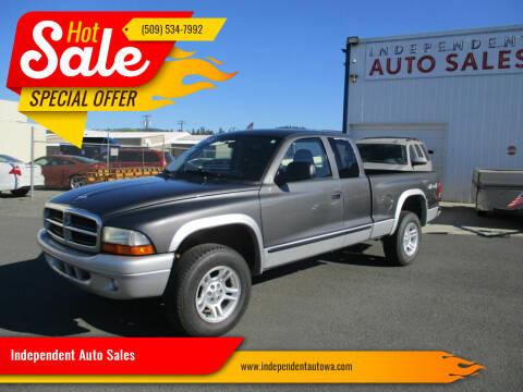 2003 Dodge Dakota for sale at Independent Auto Sales #2 in Spokane WA