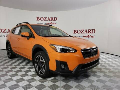 2019 Subaru Crosstrek for sale at BOZARD FORD in Saint Augustine FL