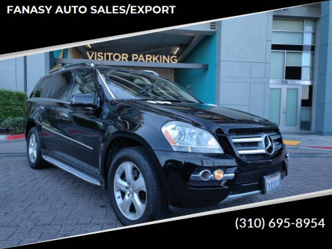 2011 Mercedes-Benz GL-Class for sale at FANASY AUTO SALES/EXPORT in Yorba Linda CA