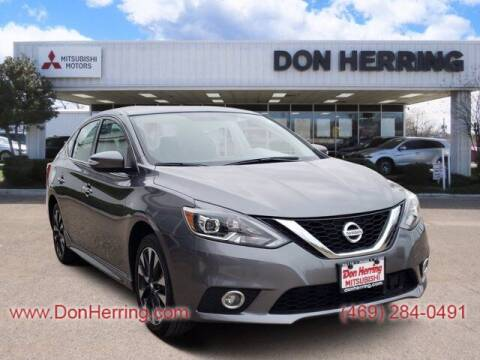 2019 Nissan Sentra for sale at Don Herring Mitsubishi in Dallas TX