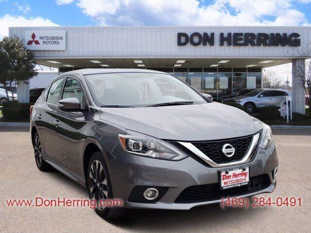 2019 Nissan Sentra for sale at Don Herring Mitsubishi in Dallas TX