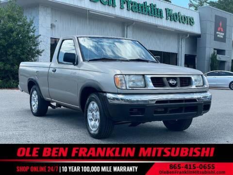 2000 Nissan Frontier for sale at Ole Ben Franklin Mitsbishi in Oak Ridge TN
