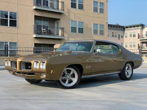1970 Pontiac GTO for sale at North Imports LLC in Burnsville MN