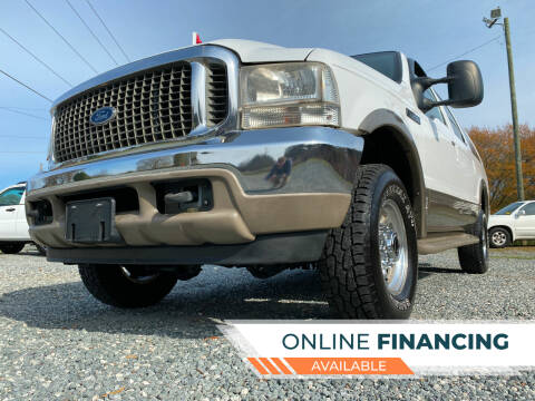 2000 Ford Excursion for sale at Prime One Inc in Walkertown NC