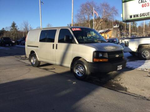 2006 Chevrolet Express Cargo for sale at Giguere Auto Wholesalers in Tilton NH
