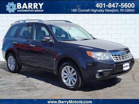 2012 Subaru Forester for sale at BARRYS Auto Group Inc in Newport RI