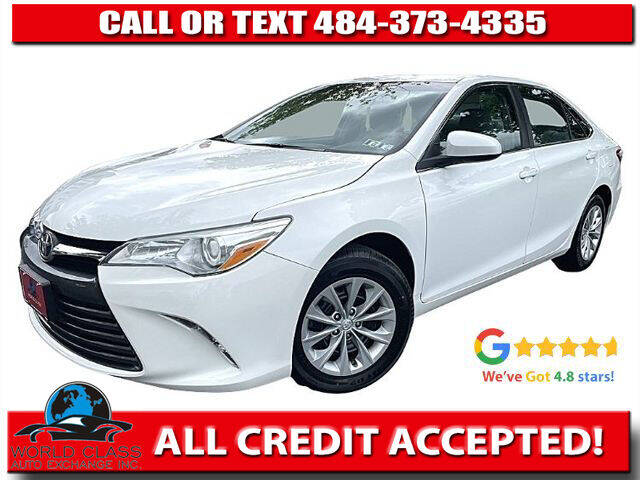 2016 Toyota Camry for sale at World Class Auto Exchange in Lansdowne PA