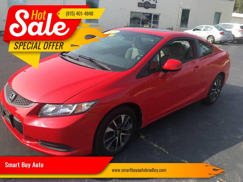 2013 Honda Civic for sale at Smart Buy Auto in Bradley IL