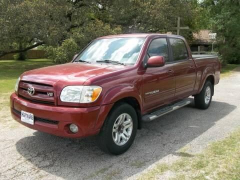 2005 Toyota Tundra for sale at Hartman's Auto Sales in Victoria TX