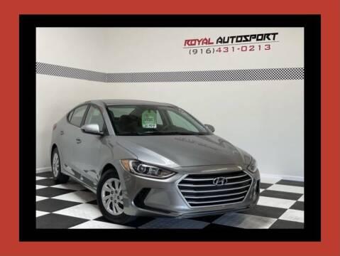 2017 Hyundai Elantra for sale at Royal AutoSport in Sacramento CA
