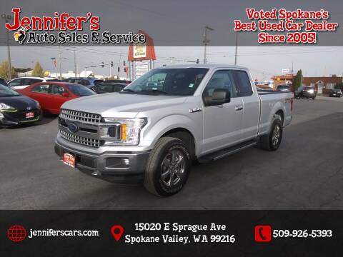 2018 Ford F-150 for sale at Jennifer's Auto Sales in Spokane Valley WA