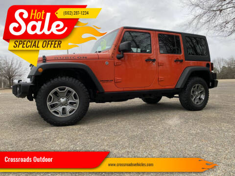 2015 Jeep Wrangler Unlimited for sale at Crossroads Outdoor in Corinth MS