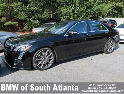 2019 Mercedes-Benz S-Class for sale at Carol Benner @ BMW of South Atlanta in Union City GA