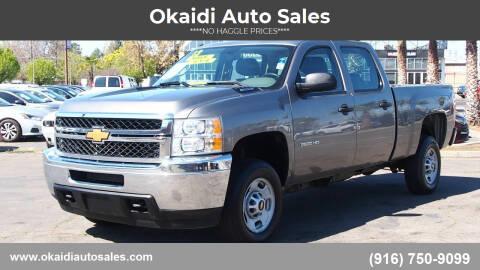2013 Chevrolet Silverado 2500HD for sale at Okaidi Auto Sales in Sacramento CA