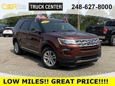 2018 Ford Explorer for sale at Jamie Sells Cars 810 in Ortonville MI