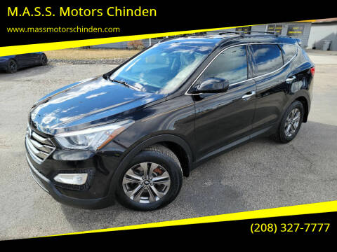 2015 Hyundai Santa Fe Sport for sale at M.A.S.S. Motors - West Fairview in Boise ID