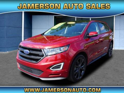2015 Ford Edge for sale at Jamerson Auto Sales in Anderson IN