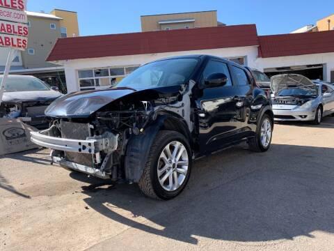 2013 Nissan JUKE for sale at STS Automotive in Denver CO