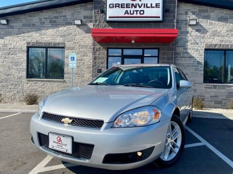 2013 Chevrolet Impala for sale at GREENVILLE AUTO in Greenville WI