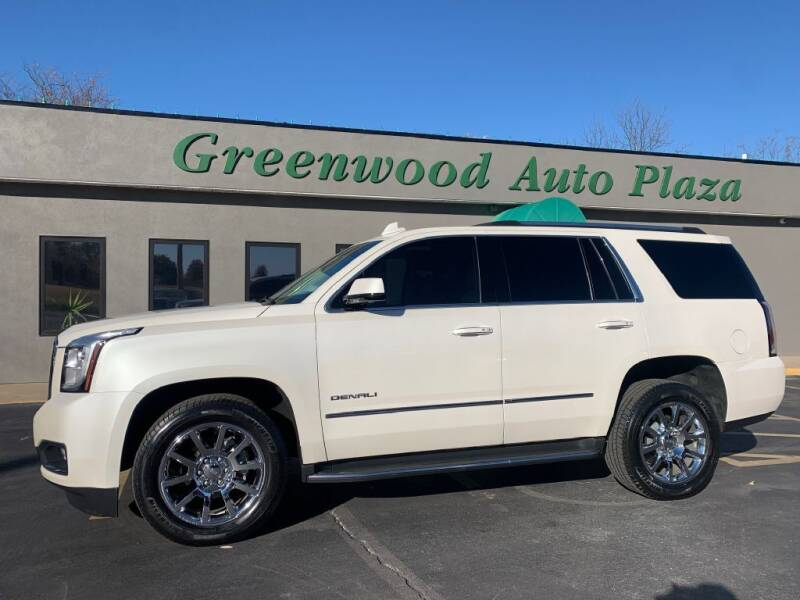 2015 GMC Yukon for sale at Greenwood Auto Plaza in Greenwood MO