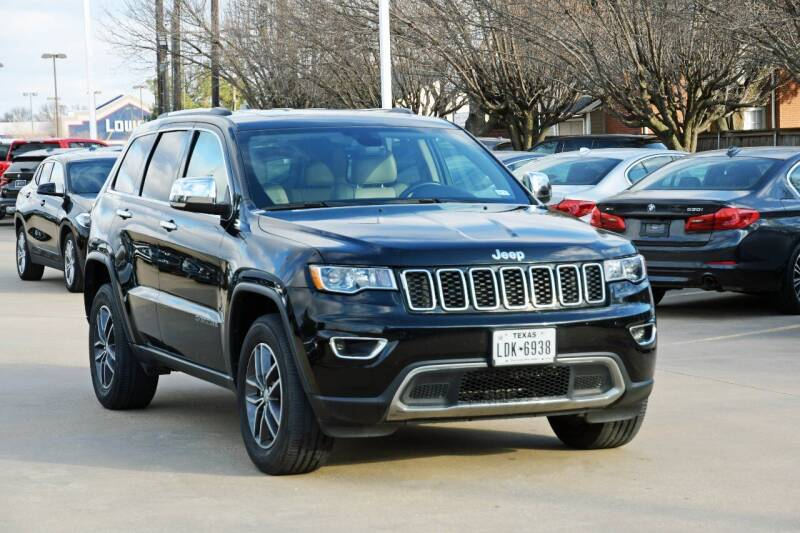 2017 Jeep Grand Cherokee for sale at Silver Star Motorcars in Dallas TX