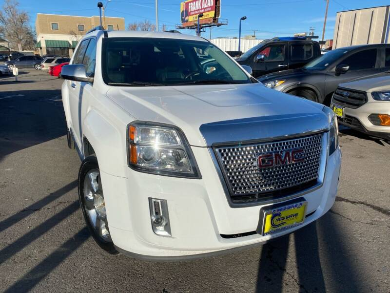 2013 GMC Terrain for sale at New Wave Auto Brokers & Sales in Denver CO