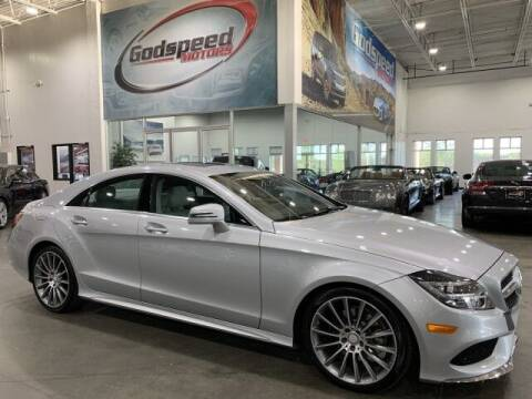 2015 Mercedes-Benz CLS for sale at Godspeed Motors in Charlotte NC