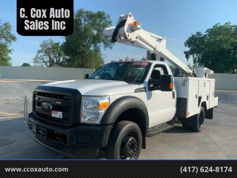 2012 Ford F-450 Super Duty for sale at C. Cox Auto Sales Inc in Joplin MO