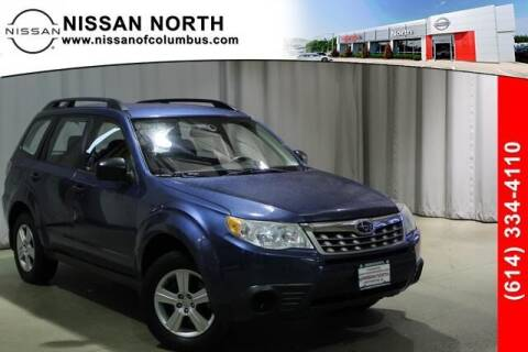 2011 Subaru Forester for sale at Auto Center of Columbus in Columbus OH