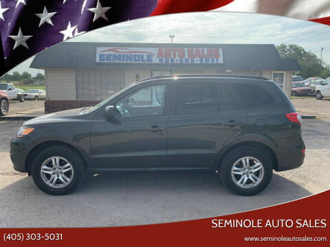 2010 Hyundai Santa Fe for sale at Seminole Auto Sales in Seminole OK
