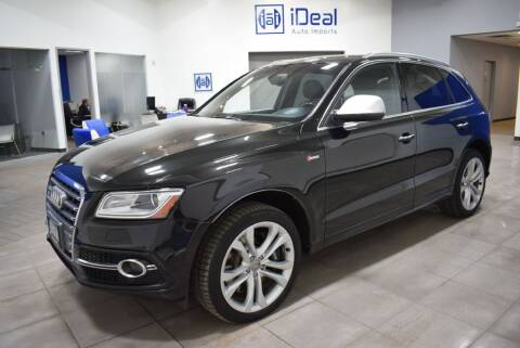 2015 Audi SQ5 for sale at iDeal Auto Imports in Eden Prairie MN