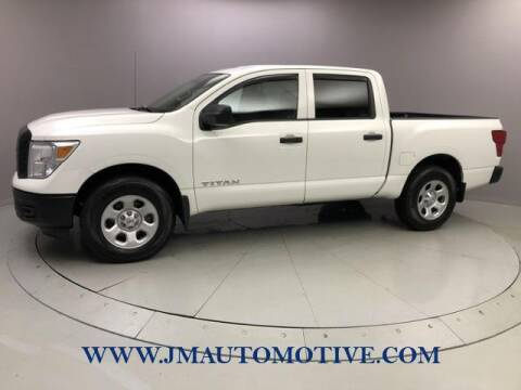 2017 Nissan Titan for sale at J & M Automotive in Naugatuck CT