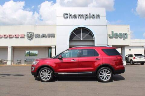 2017 Ford Explorer for sale at Champion Chevrolet in Athens AL