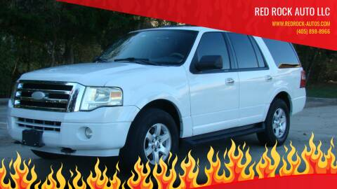 2009 Ford Expedition for sale at Red Rock Auto LLC in Oklahoma City OK