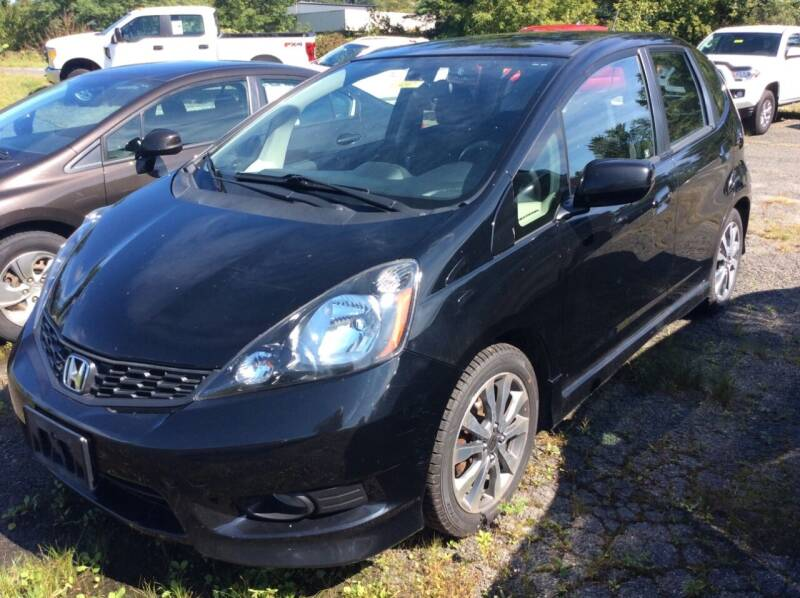 2012 Honda Fit for sale at Route 102 Auto Sales  and Service in Lee MA